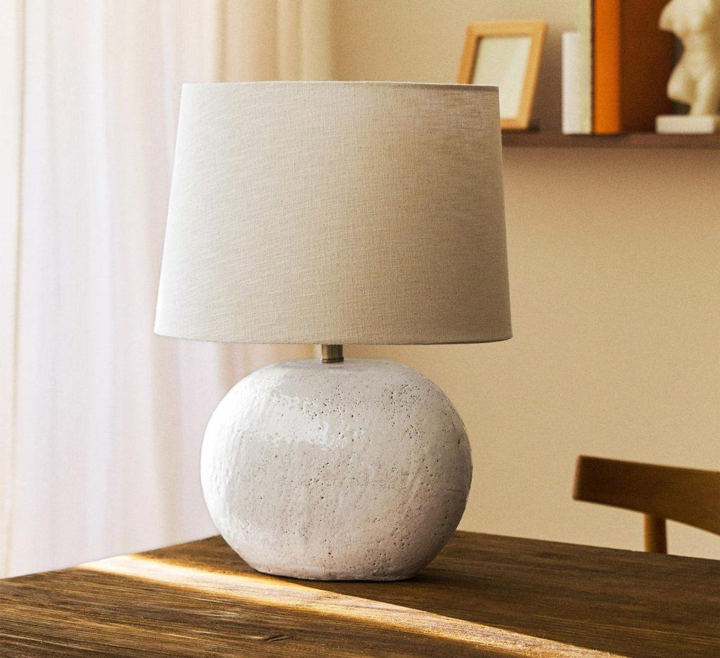 lampada ceramica zara